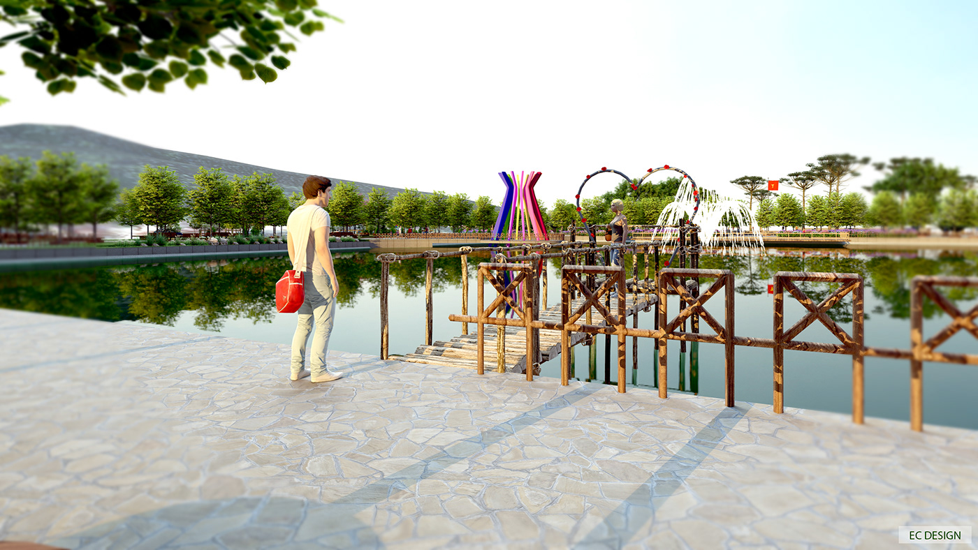 fun area lanscape Urban Design