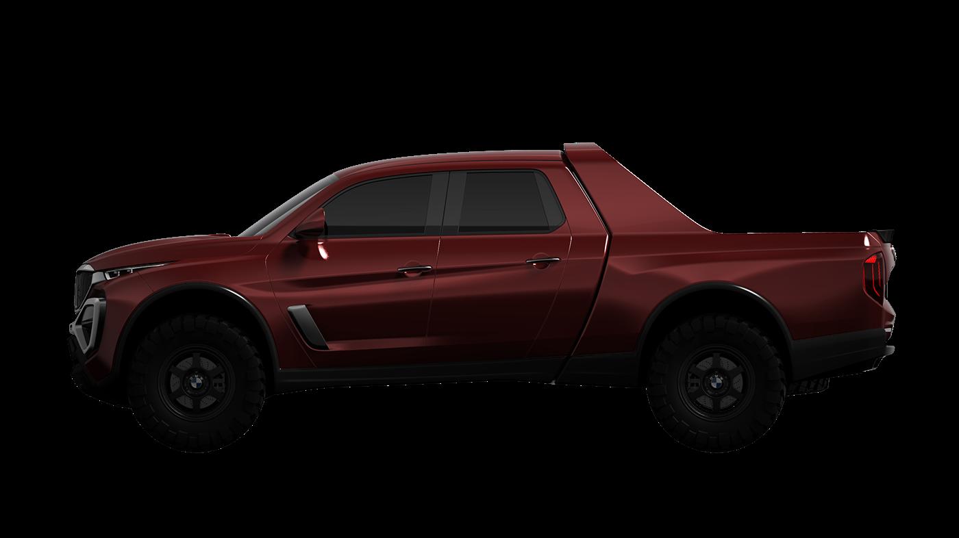 BMW,pickup truck,Alias,keyshot,3D,3dmodeling