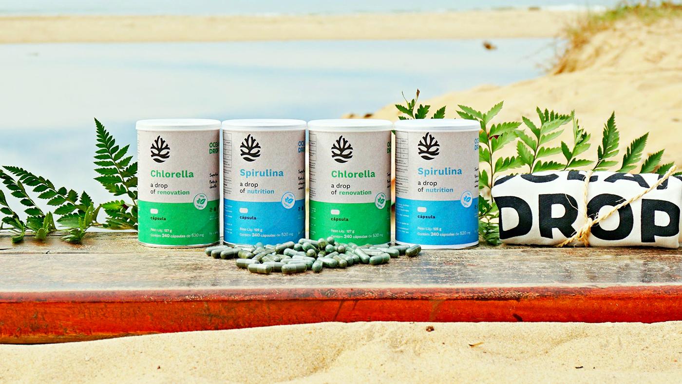 spirulina chlorella Ocean life superfood water healthy Cause seaweed sea