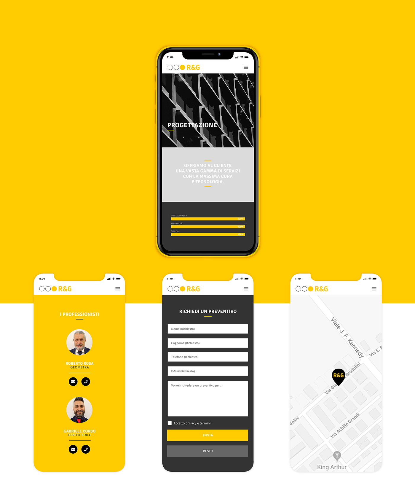 Website minimal architect architecture Responsive icons iconset Interaction design  graphic design  user interface