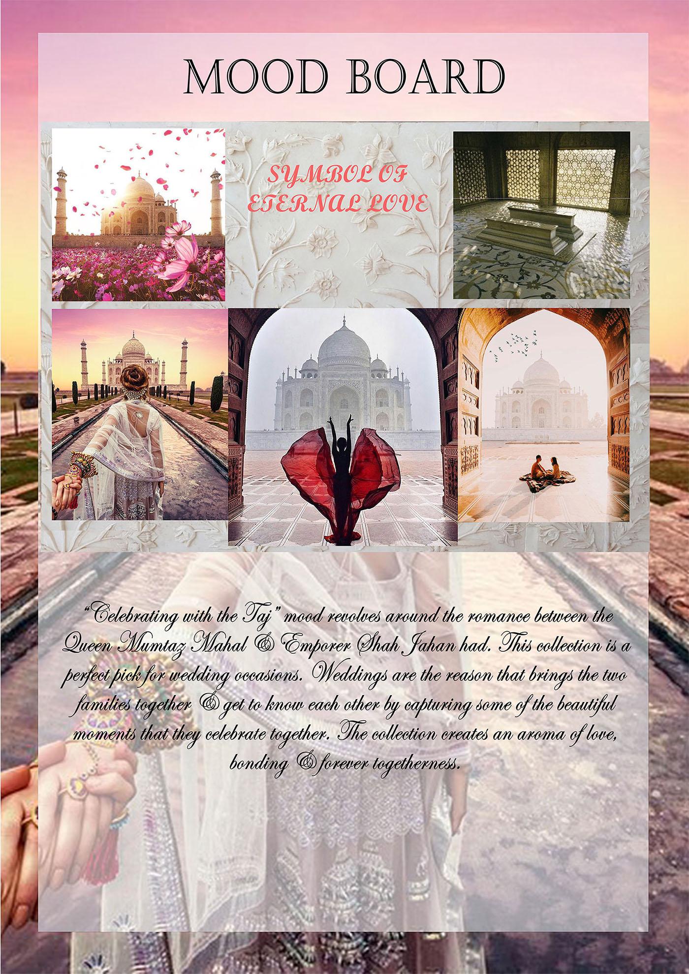 Taj Mahal Occasional Wear SS18 Love
