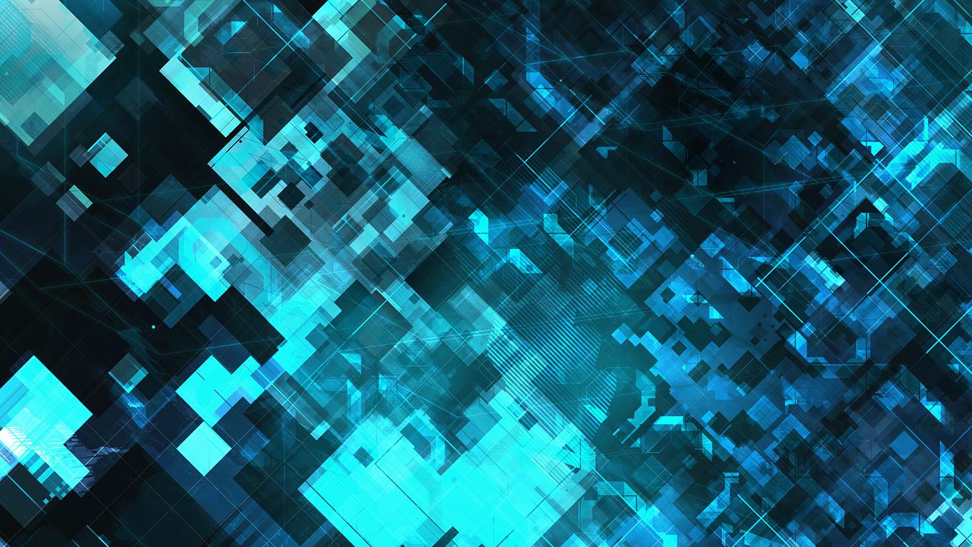 texture Technology Cyberpunk blue cyber digital future