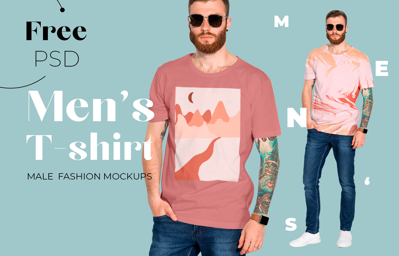 apparel mockup fashion mockup free free download free mockup  freebie graphic tees men's t-shirt mockup mockup download pattern design  t-shirt mockup