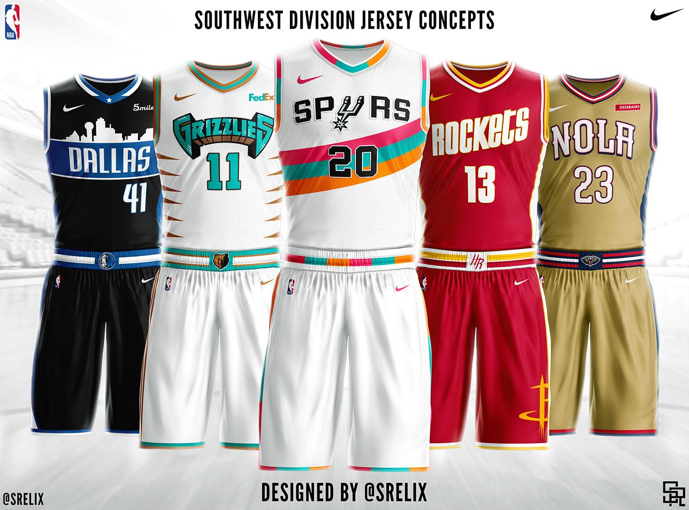 NBA Jersey Concepts on Behance ea49af0f2