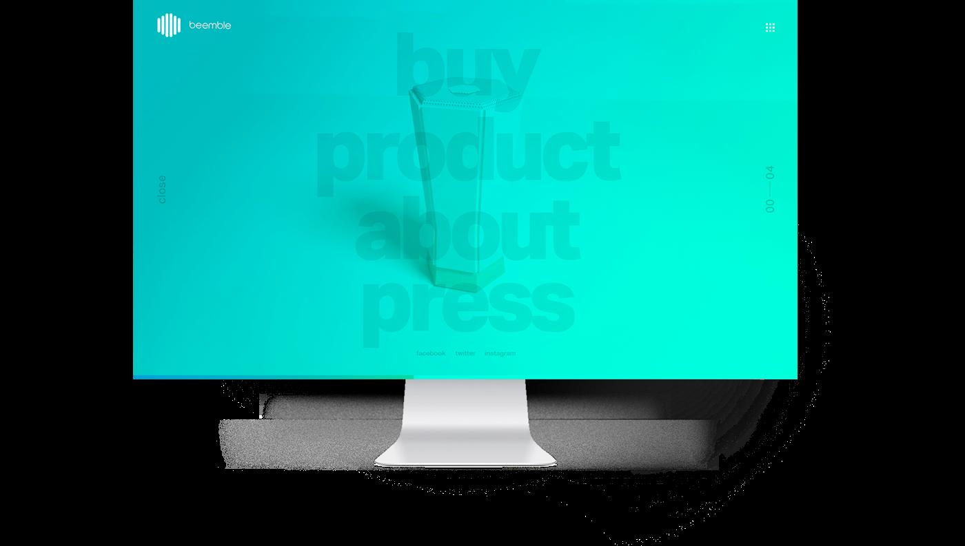 product design  identity app dashboard 3D language