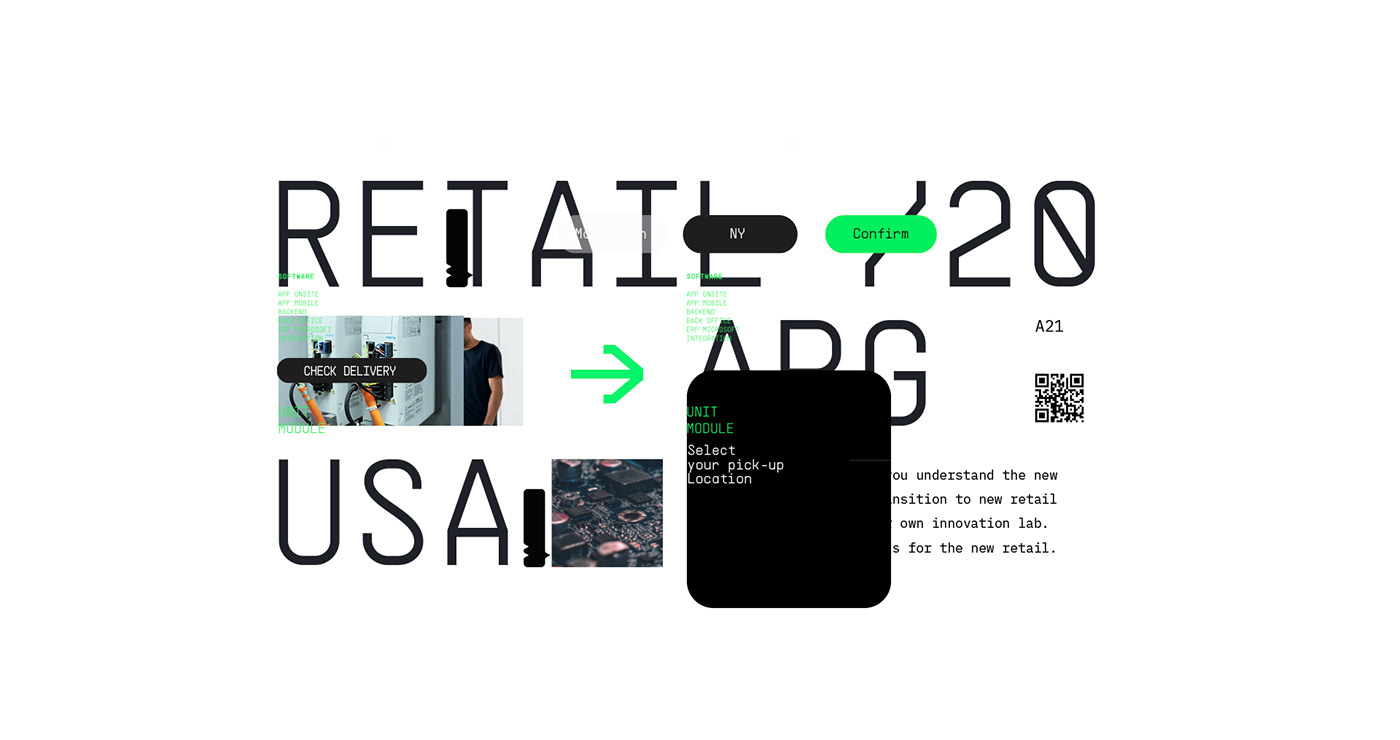 automatization,conceptual,digital,green,modern,newyork,Retail,robotics,Smart,store