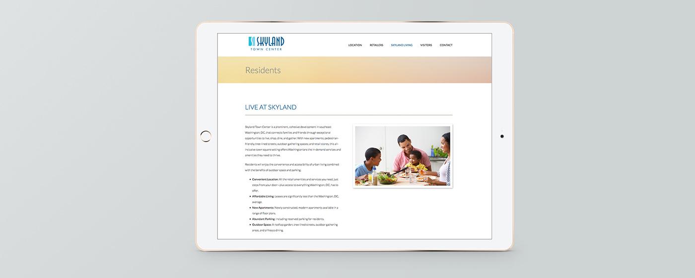 Skyland Town Center Website
