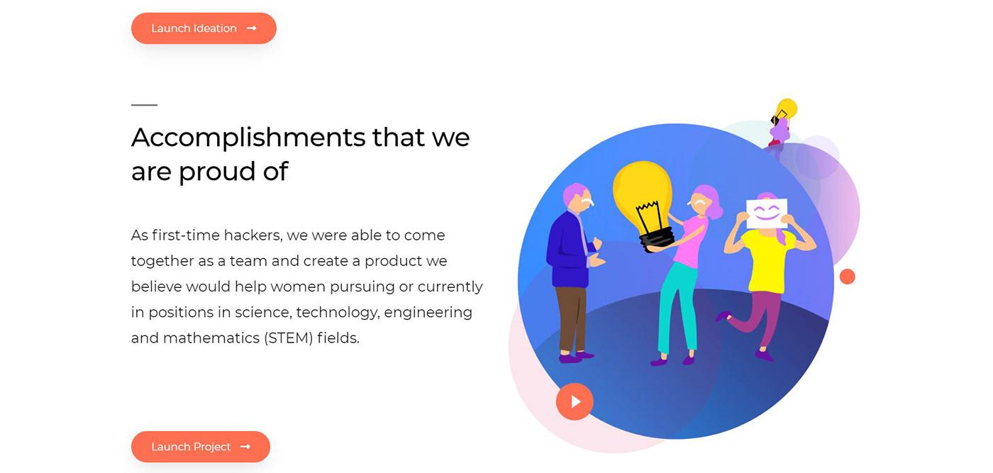 #hackathon #womeninstem #technica2019 #adobe #AdobeXD #women #oasis #womenpower #technica #visionist