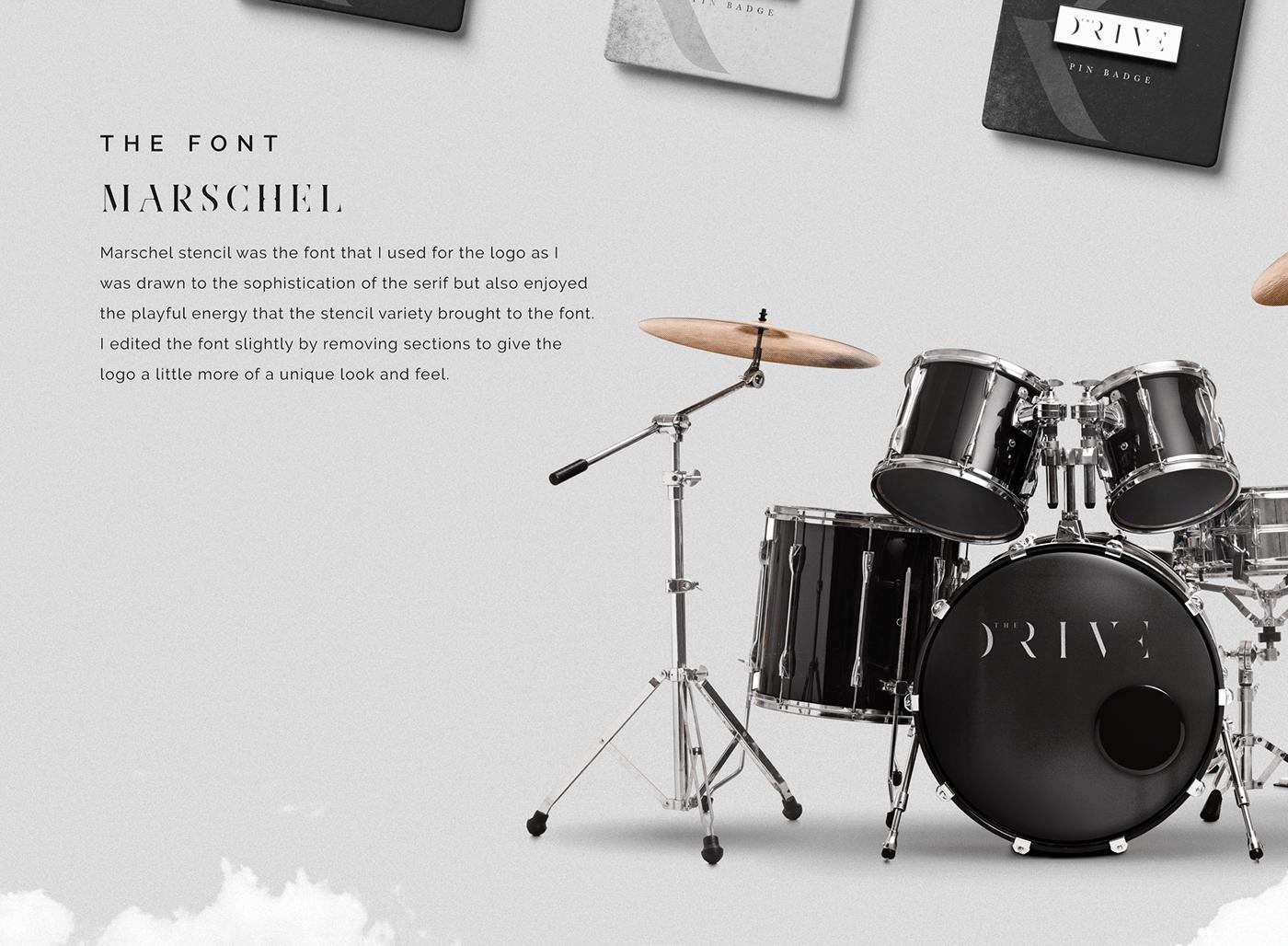 band Identity brand identity branding  graphic design  Identity Design Logo Design musical identity