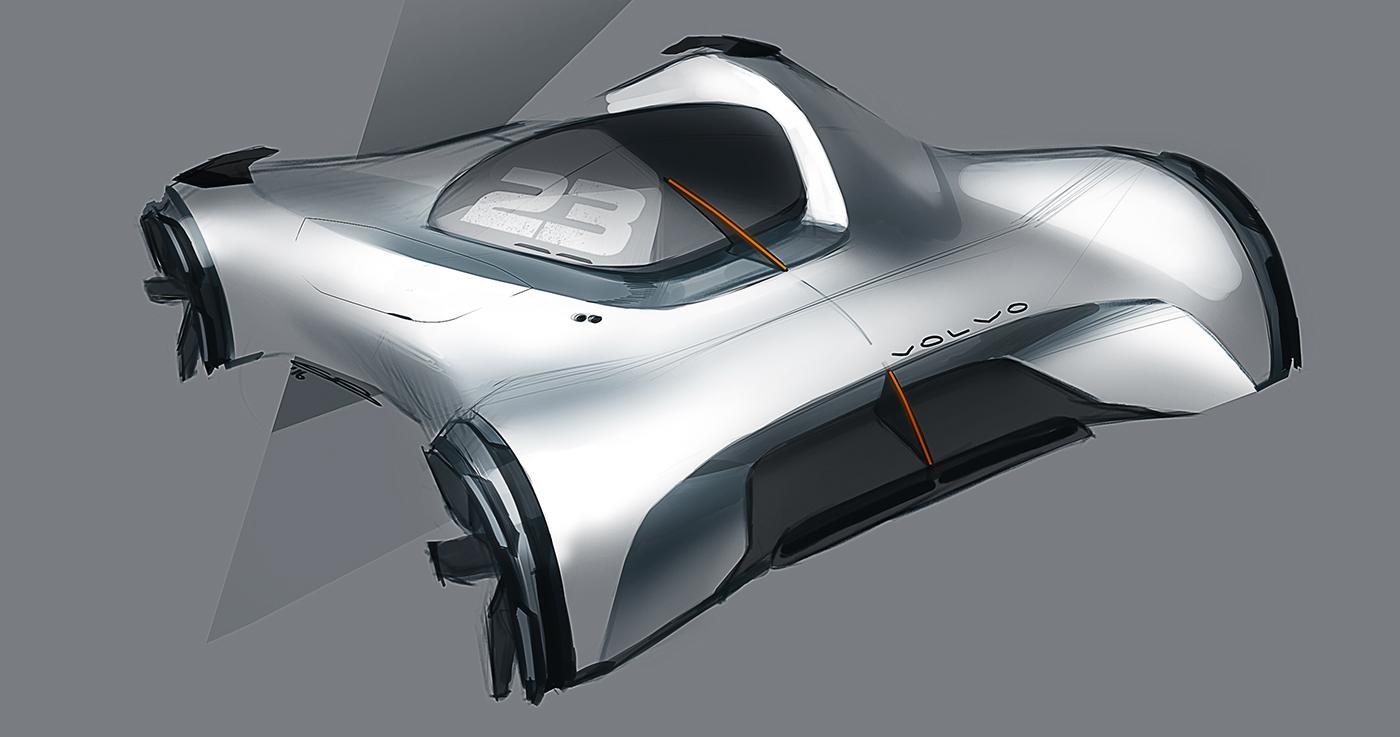 精品的20張概念車草圖設計欣賞