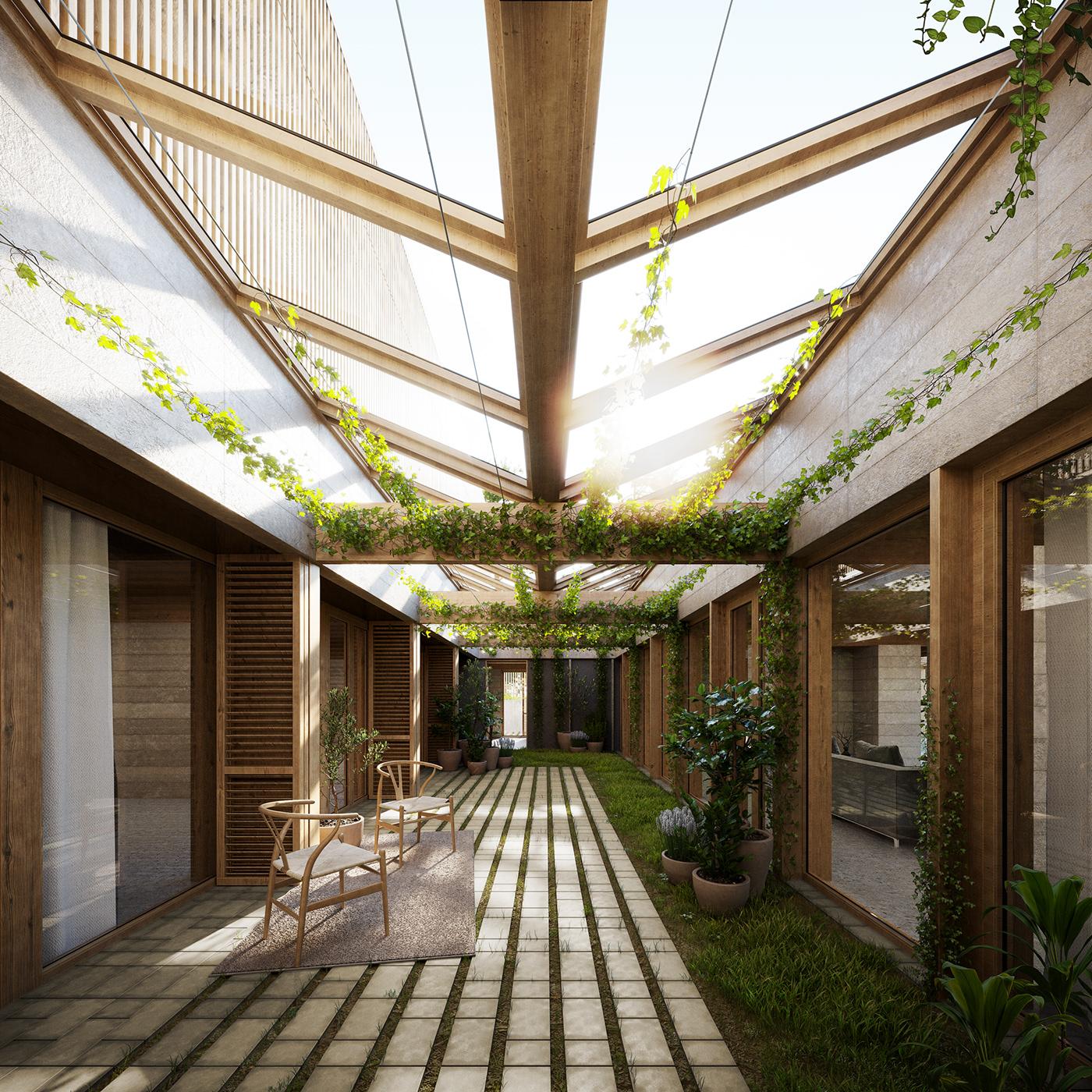 architecture archviz CGI Interior interiordesign Landscape Retail Urban