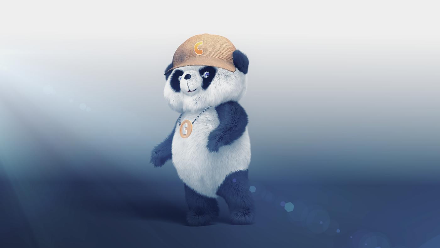 Panda   panda animation  panda dance dancing panda