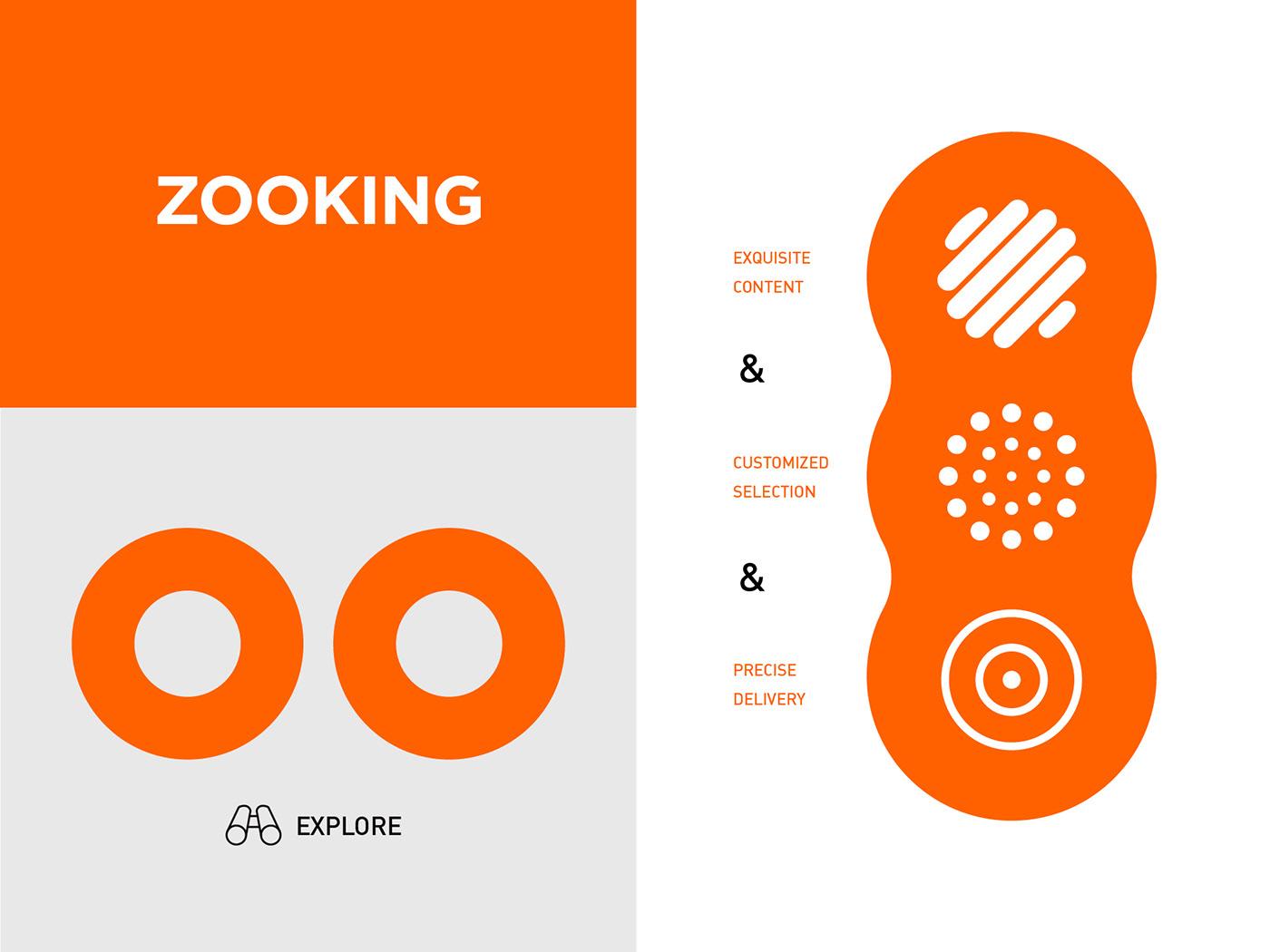 black brand circular company graphic Internet orange Renewal visual identity