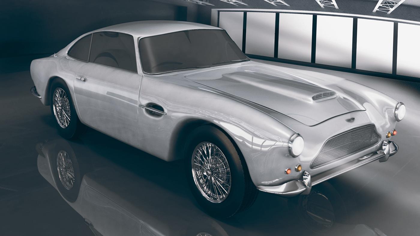 Aston Martin Db4 1958 On Behance