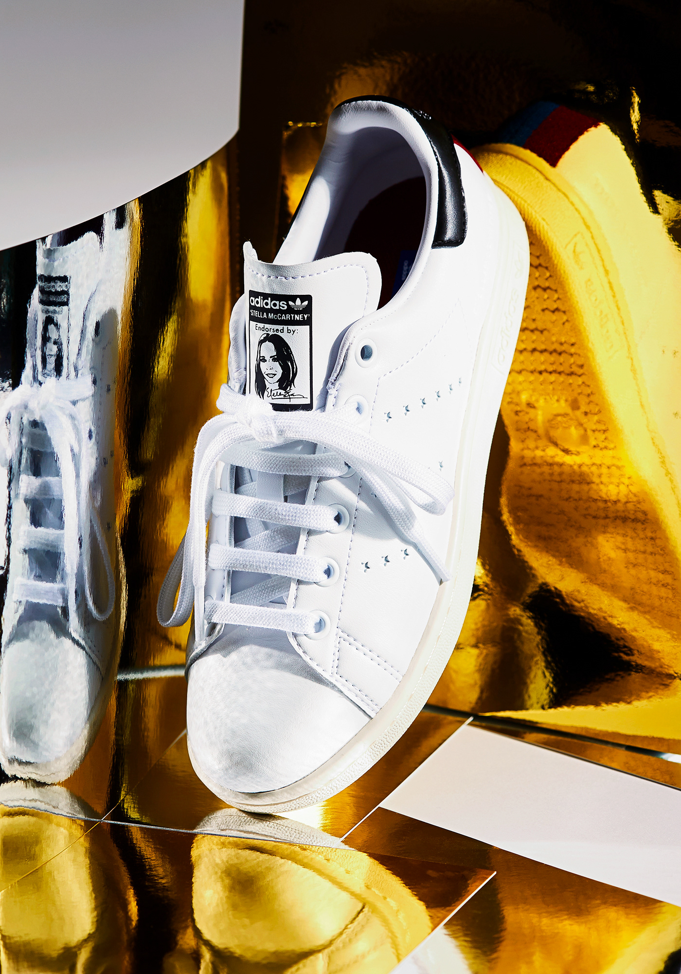 san francisco 03e18 405d4 Shoes: Stella McCartney x Adidas Stan Smith on Behance