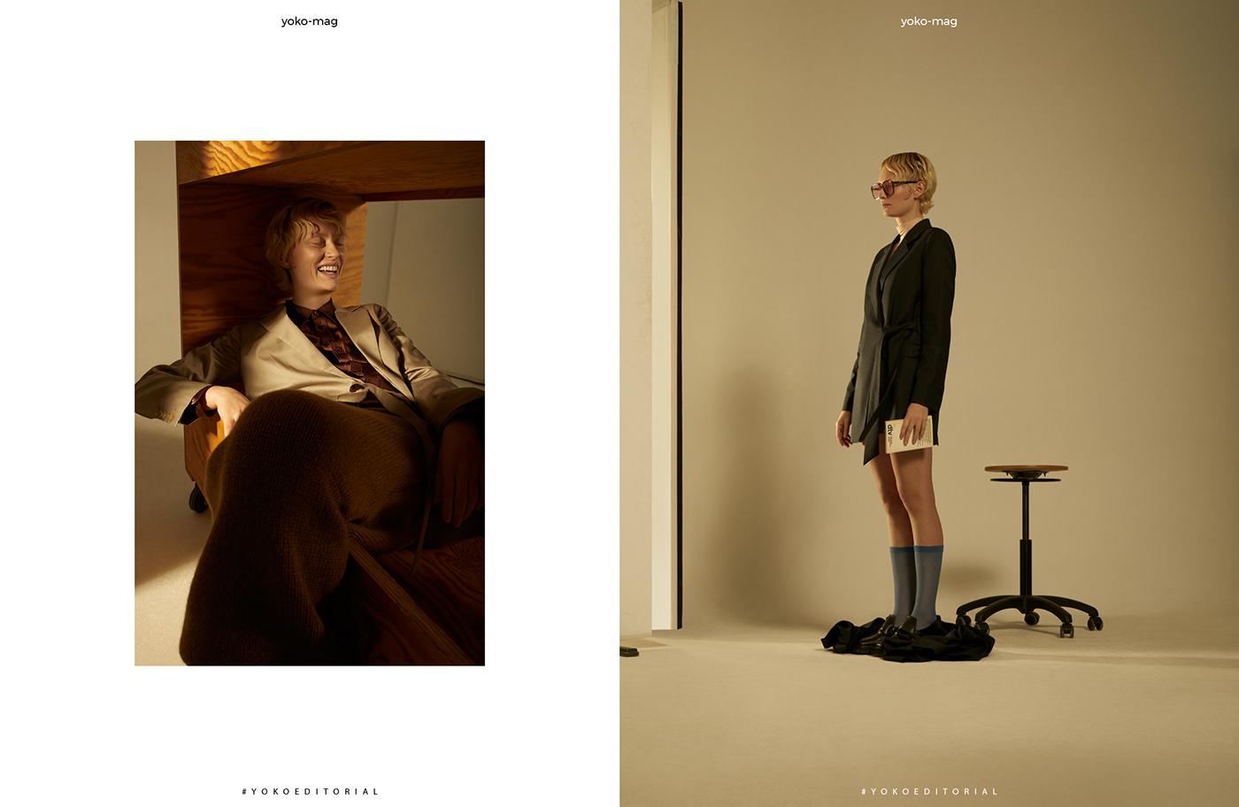 Image may contain: wall, clothing and man