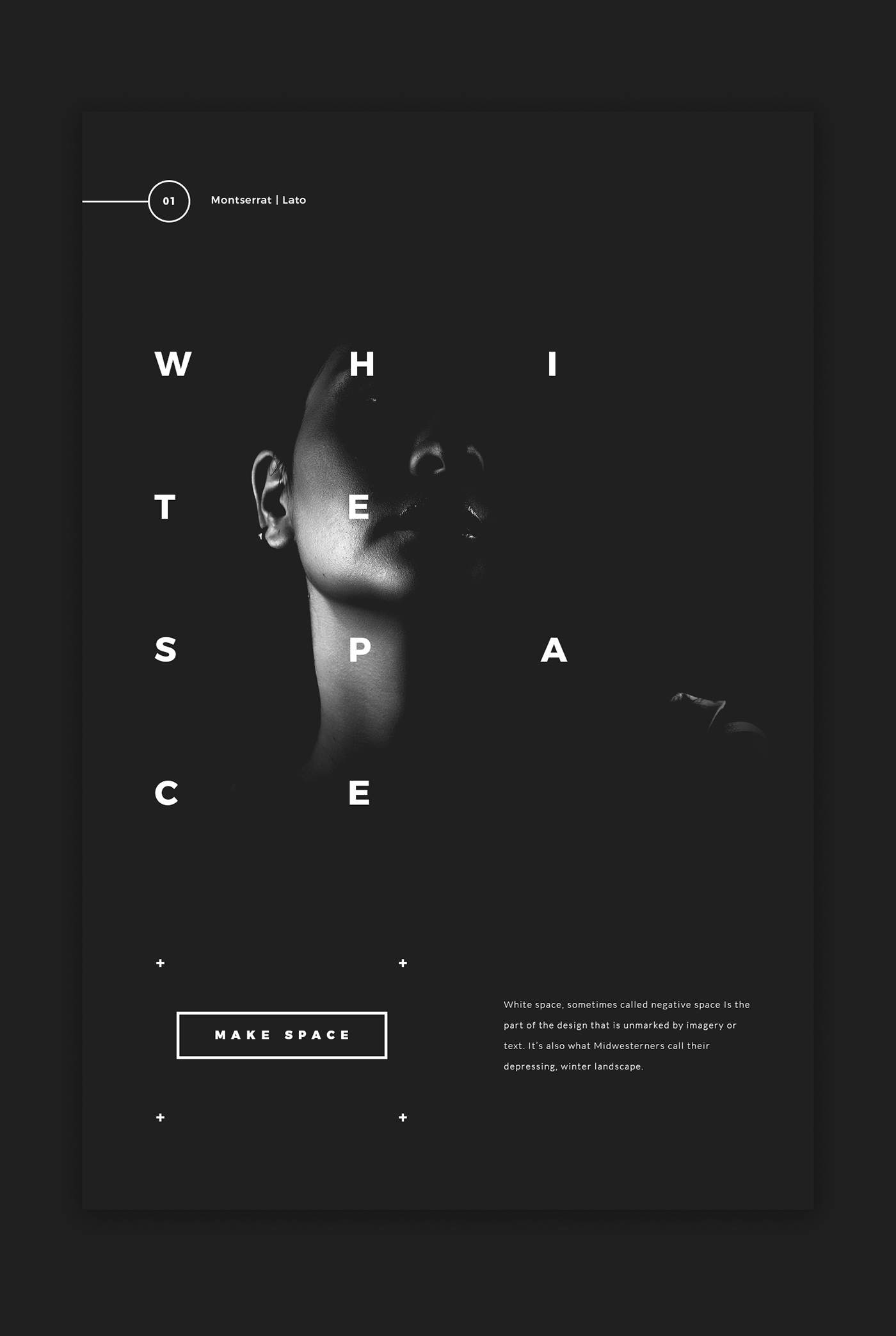 5 google fonts trends and combinations on behance google fonts used montserrat lato ccuart Gallery