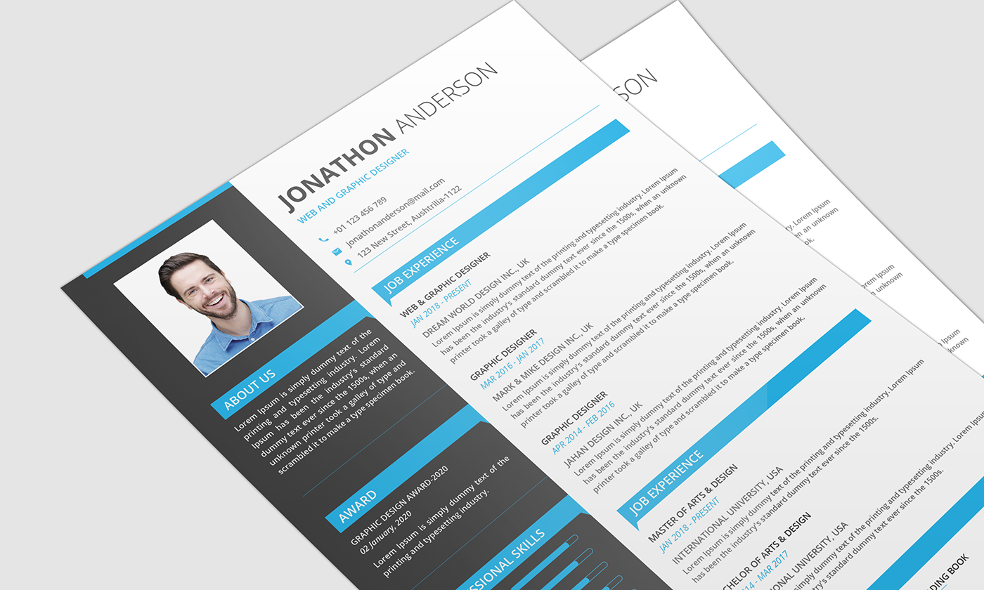 FREE RESUME DOWNLOAD on Behance