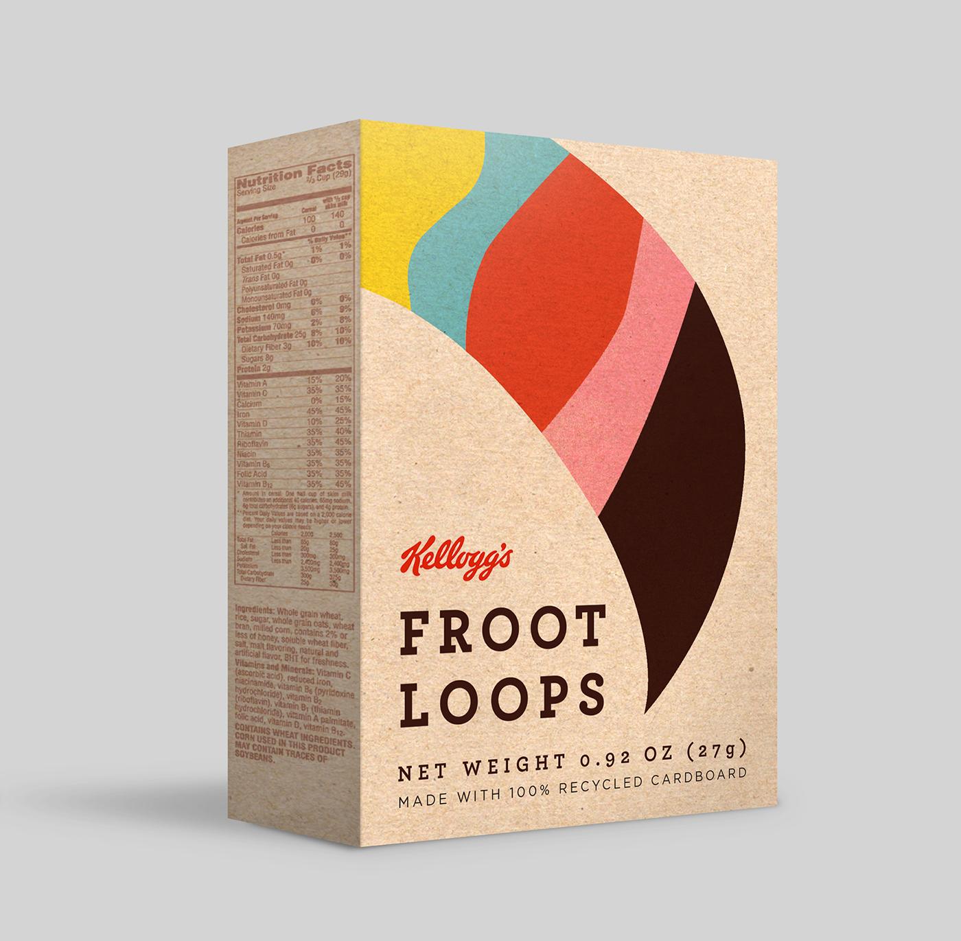 Kellogg's Mini Cereal Boxes On Behance