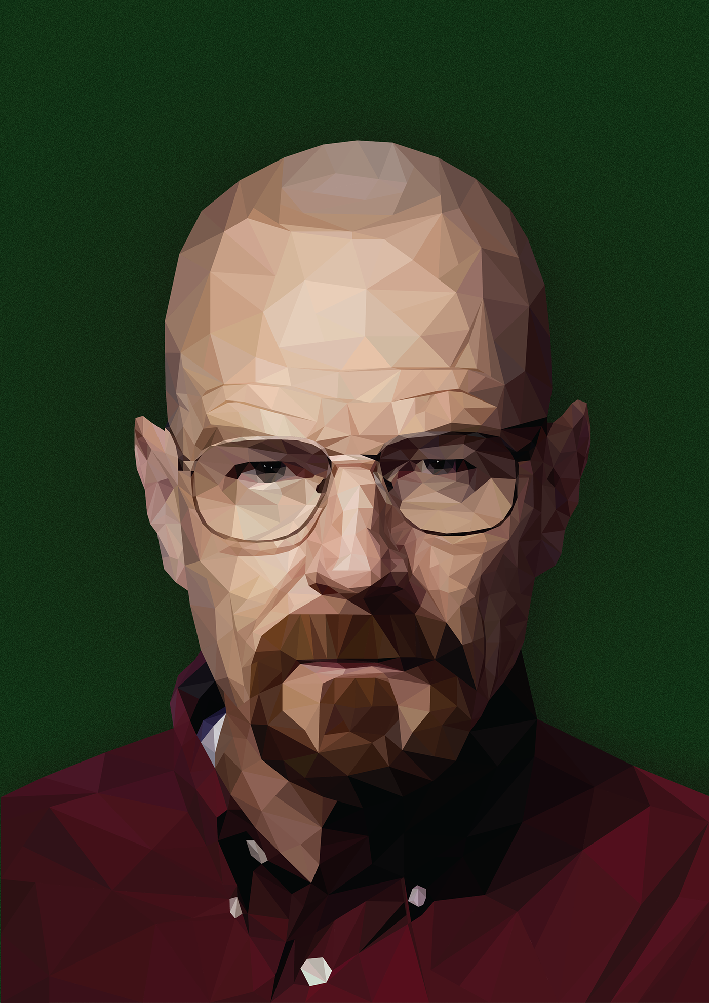 Walter White (Breaking Bad) - Low Poly