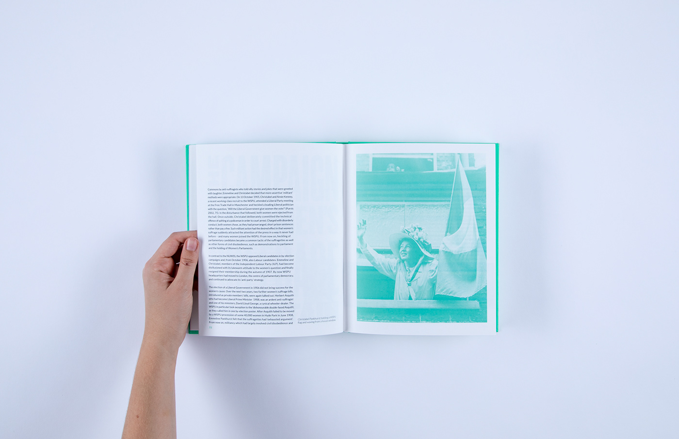editorial graphic design  design Exhibition  Catalogue identity branding  Suffragettes