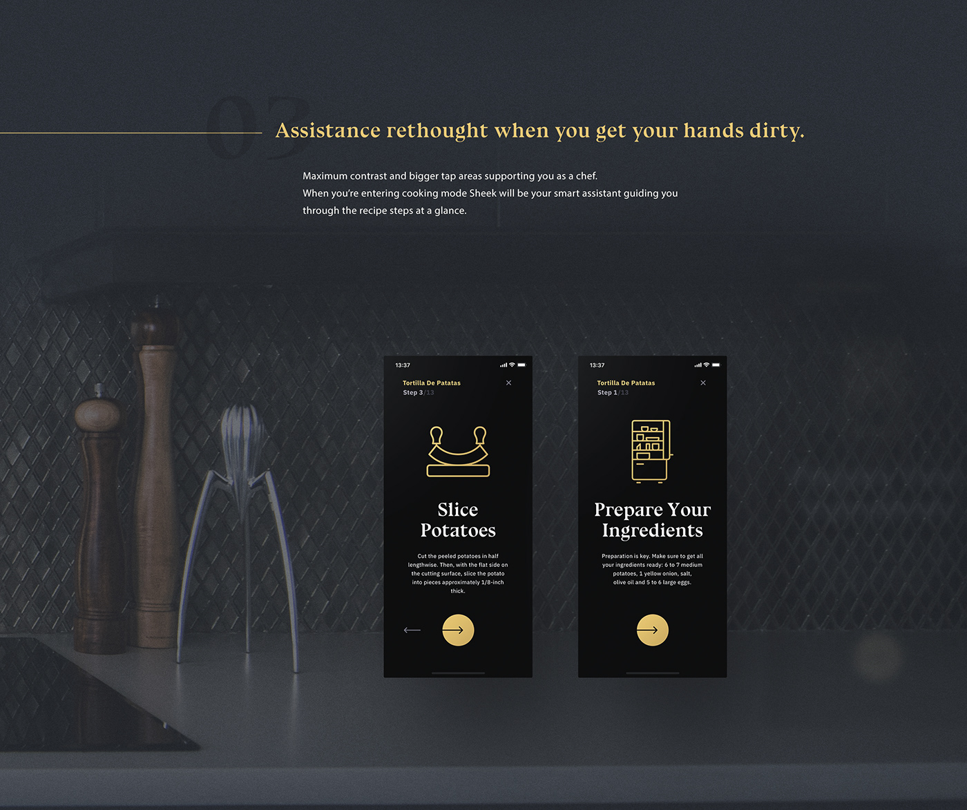 user experience ui design user interface app concept concept wireframes Food  kitchen meal yummy