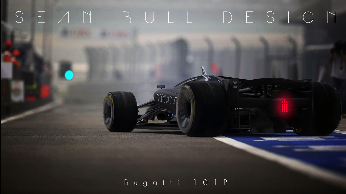 Mercedes Of Warwick >> Bugatti 101P - F1 2020 Concept - The Story on Behance