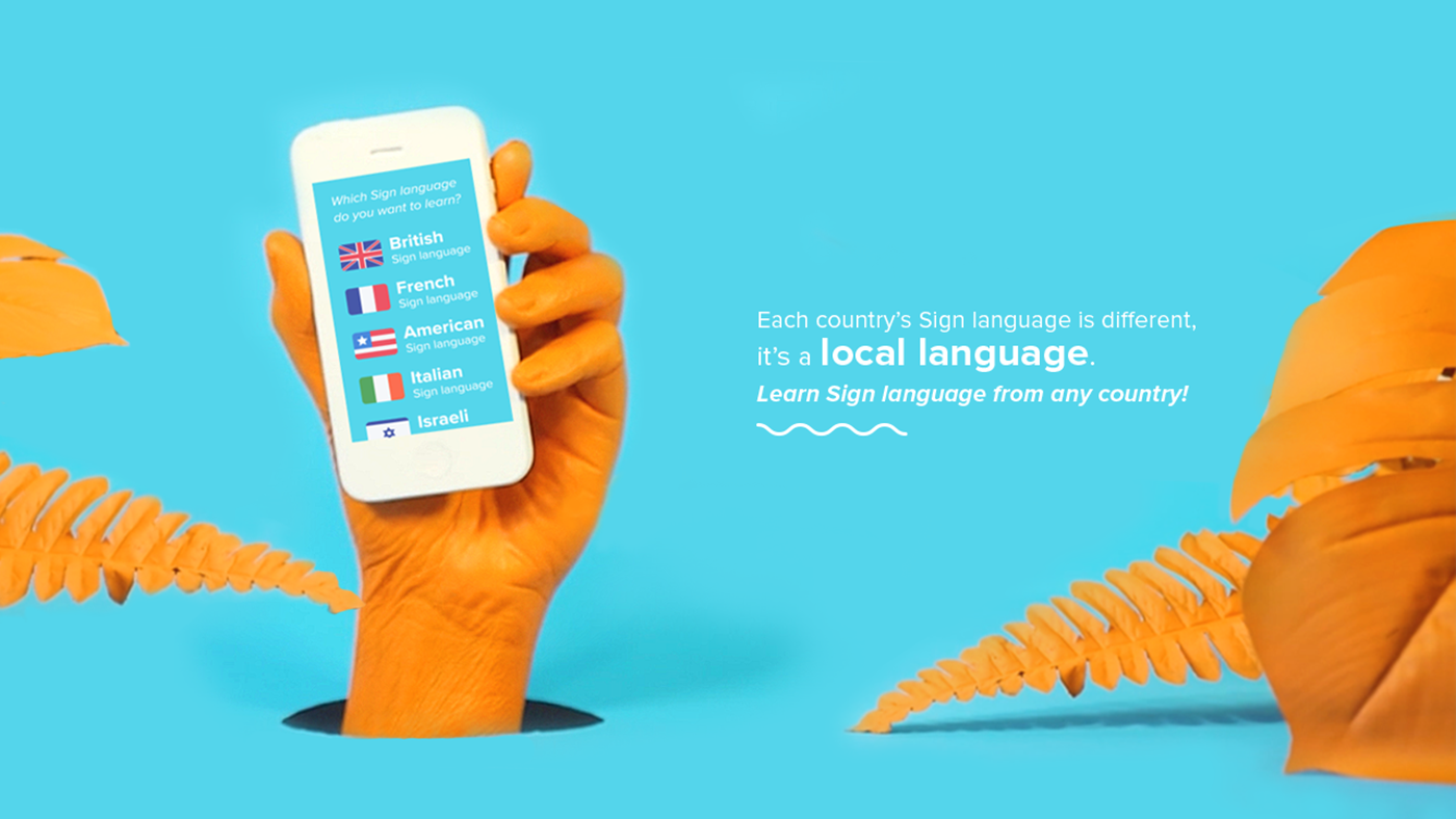 motion graphics sign language animations hands deaf International