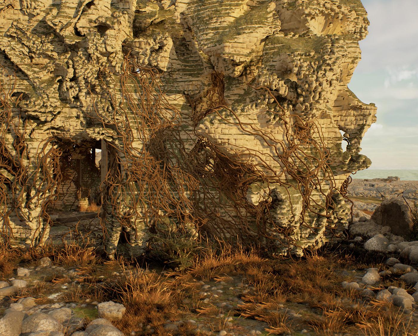 architecture parametric generative design simulation growth house 3d print digital swarm
