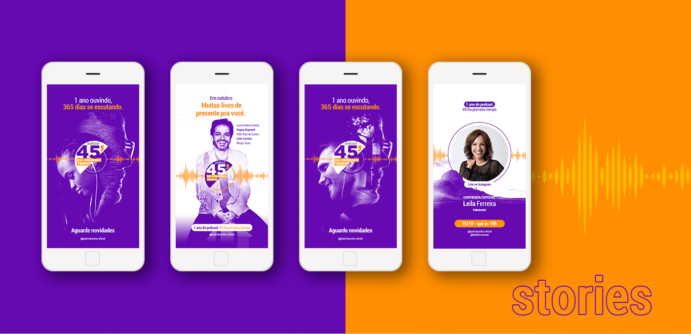 1º tempo aniversário digital lives music pausa podcast purple sabatico spotify