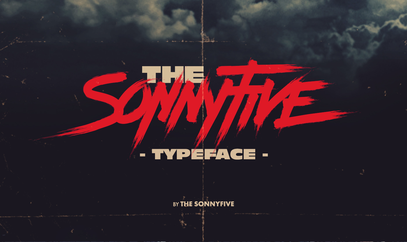 Awesome 80s Typography with The Sonnyfive