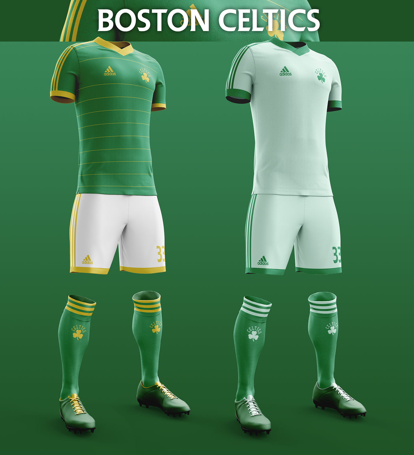Talisman & Co. | Boston Celtics Soccer Concept Kit