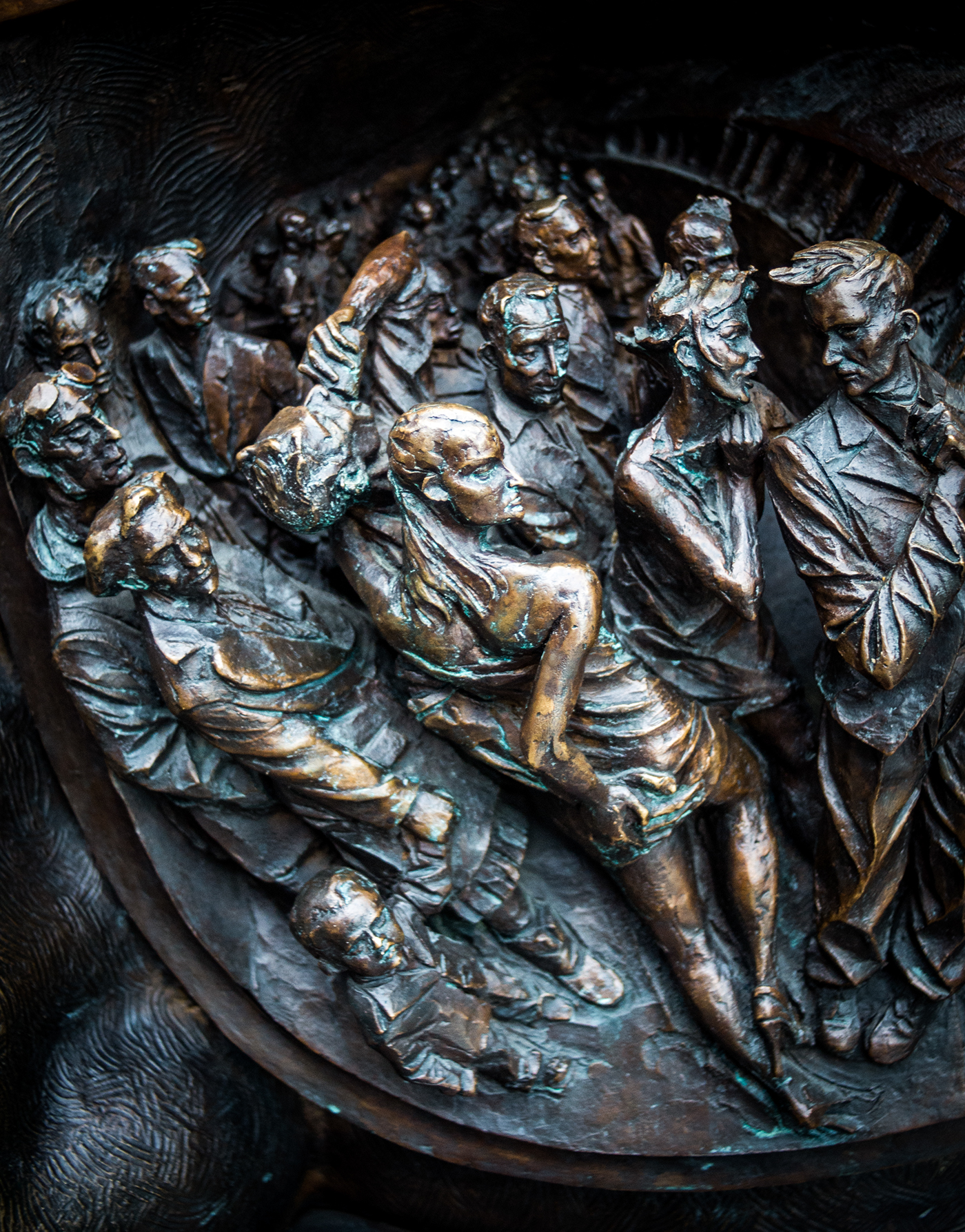 Statue Detail.