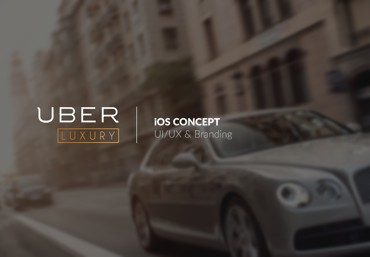 Uber Luxury On Behance