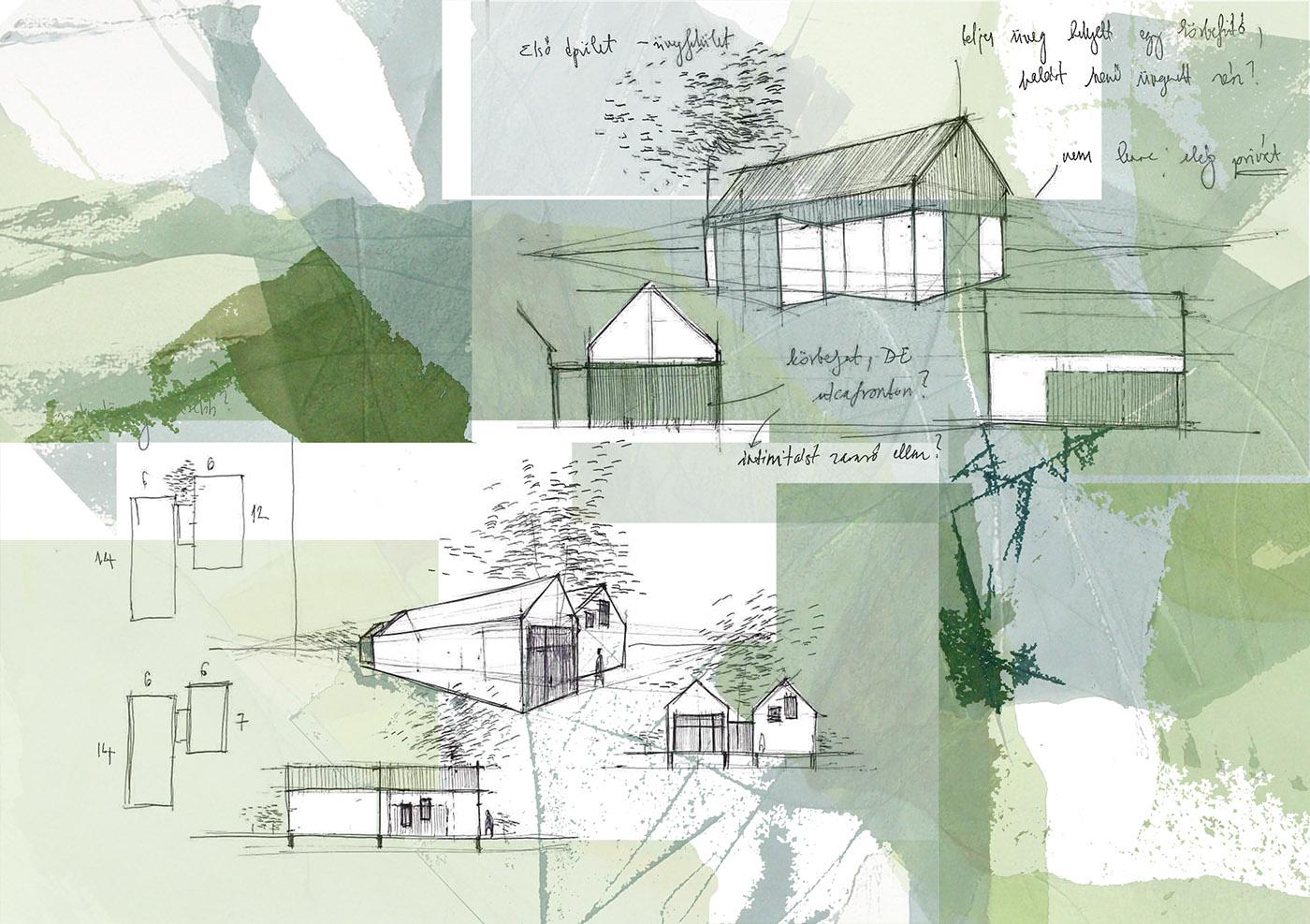 高質量的20套建築手繪欣賞