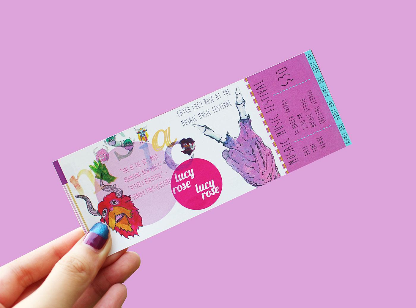 有美感的19個入場票券設計欣賞