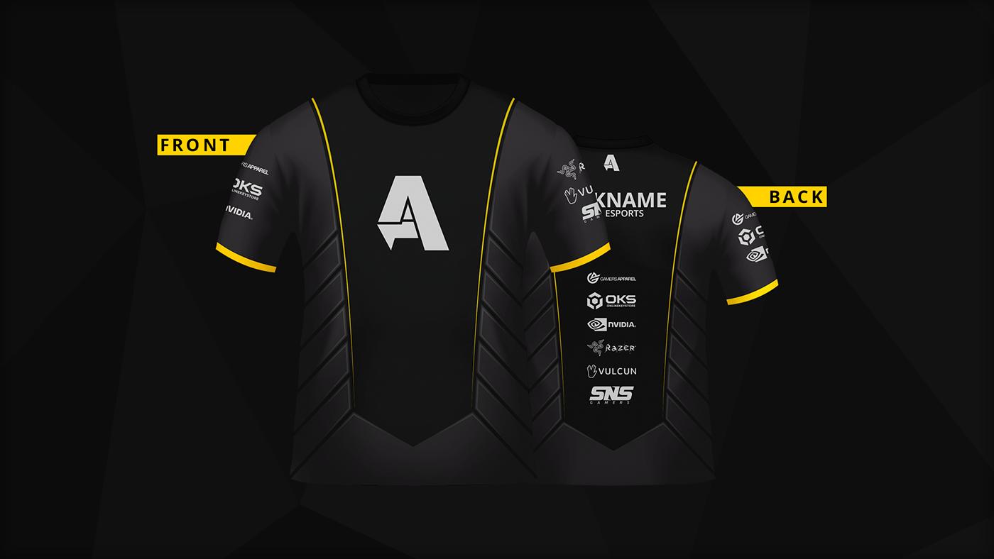 Aska Esports 2016 Jersey Design On Behance