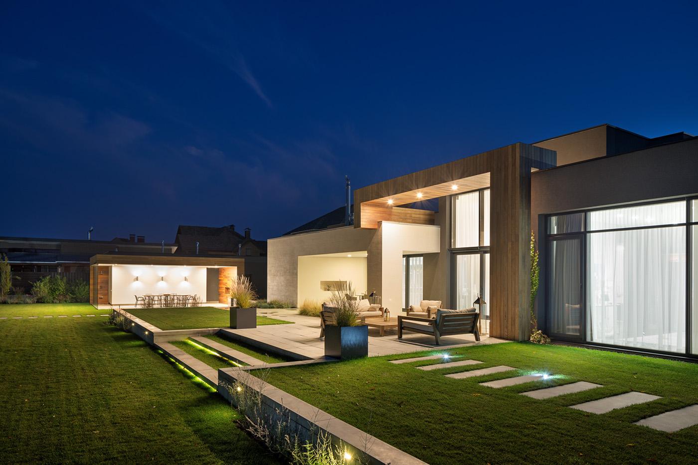 private residence near cherkasy  ukraine  exterior on behance