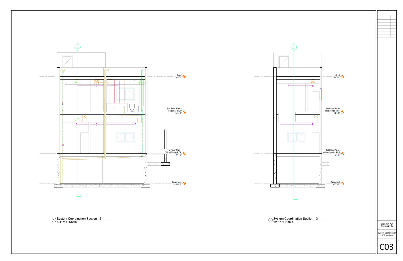 Mechanical Systems Case Study On Behance Hvac Drawing The Internal Of Structures Including But Not Limited To Plumbing Lighting And Ventilation Attached Is A Series Drawings