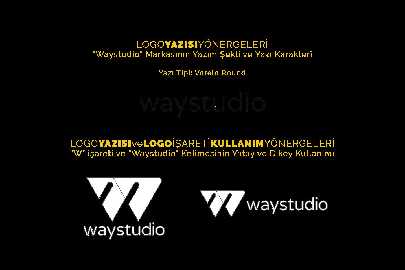 """""""Way Studio"""" Logo �al��mas�"""