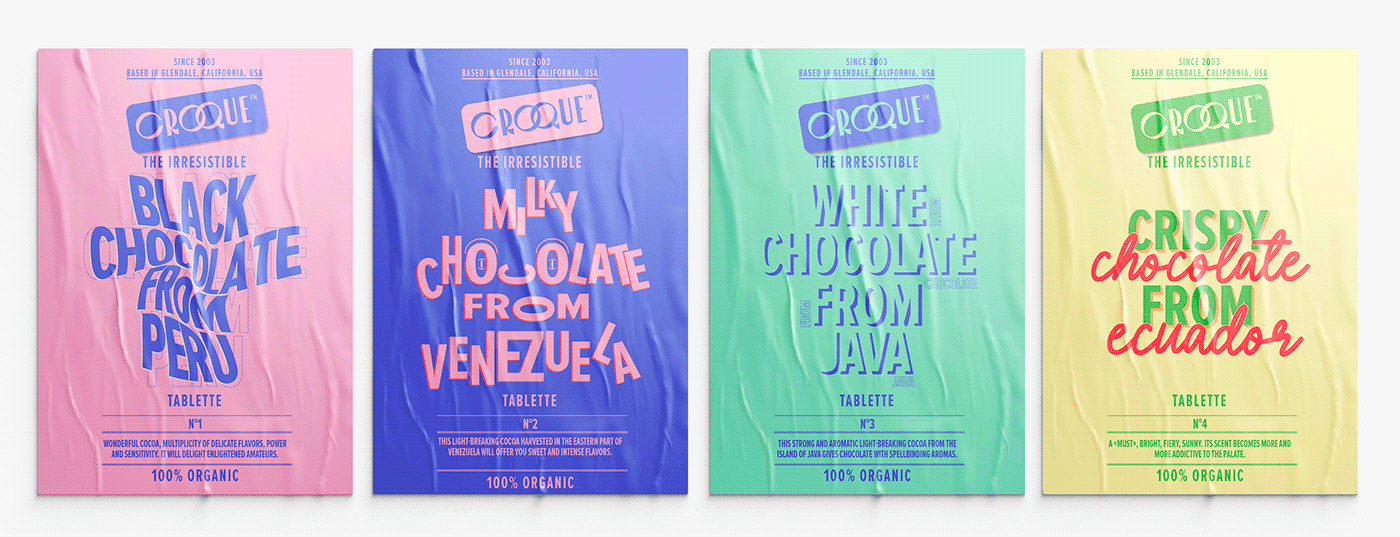 packaging chocolat