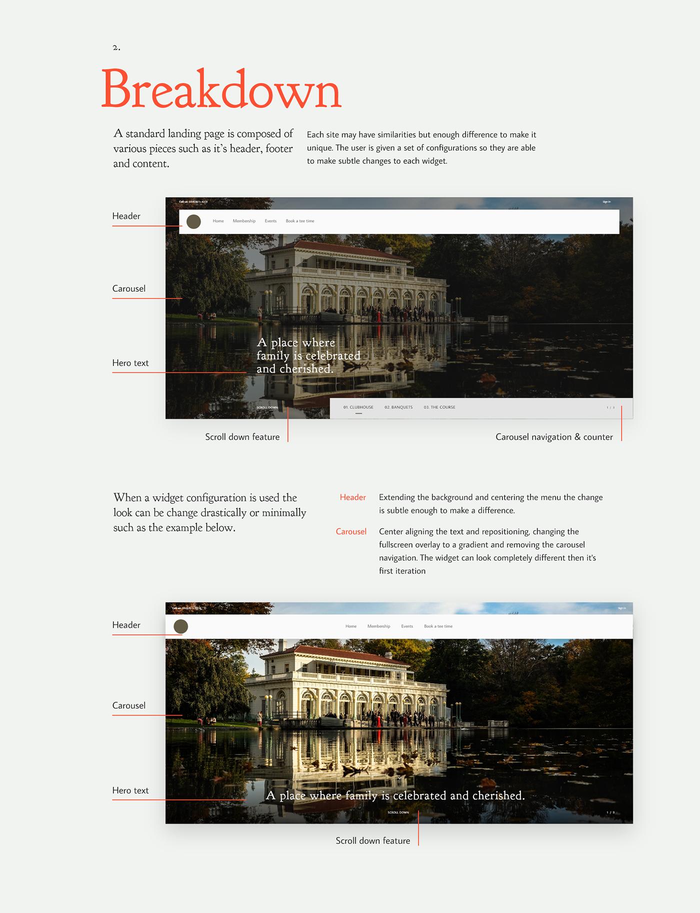 UI/UX UI Web widgets Webdesign interaction redesign