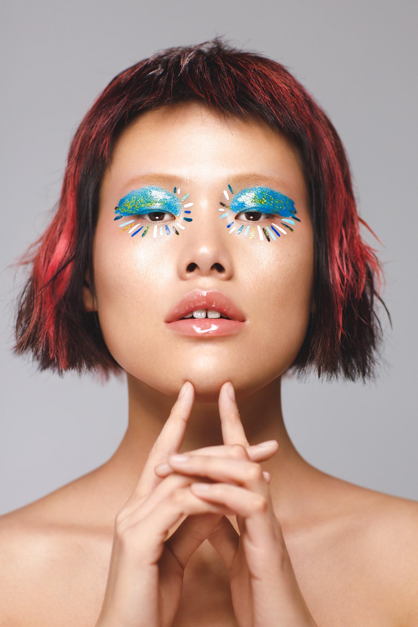 beauty closeup cosmetics cover editorial magazine makeup Montreal portrait