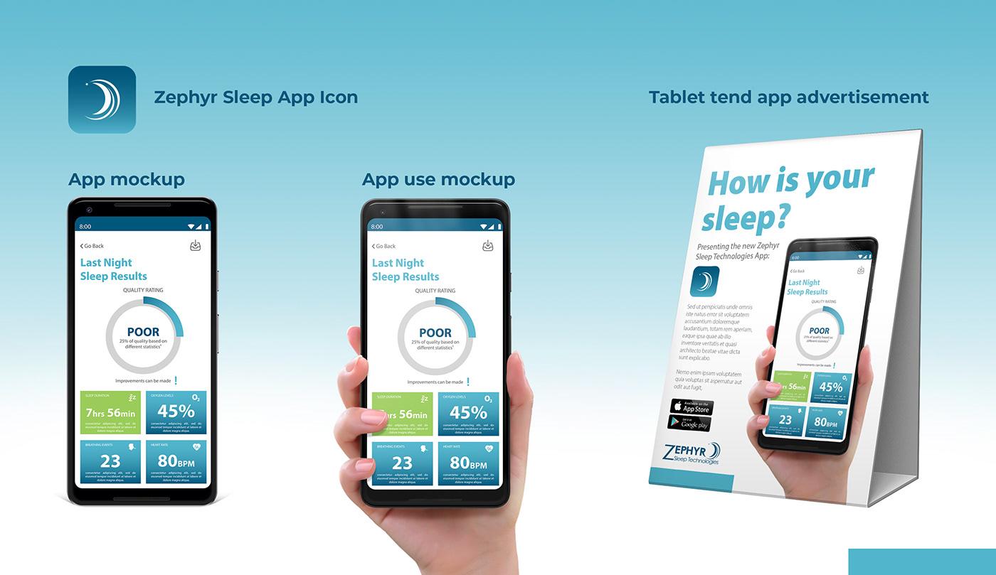 apnea,app,Interface,sleep,UI,UI/UX,ux