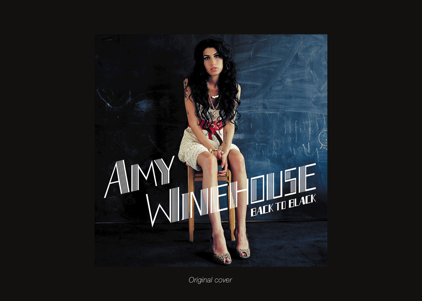 Amy winehouse cover record art deco old Retro vintage depositphotos