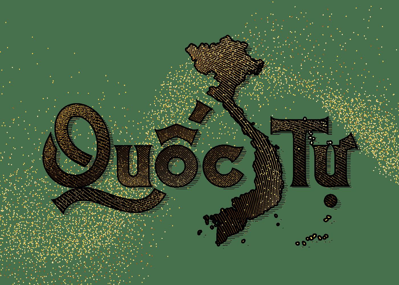 Quốc Tự,typography  ,viet nam,vietnam,Vietnamese Alphabet,văn hóa