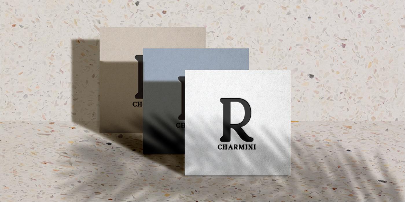 charmini family font modern otf Retro serif type Typeface typography