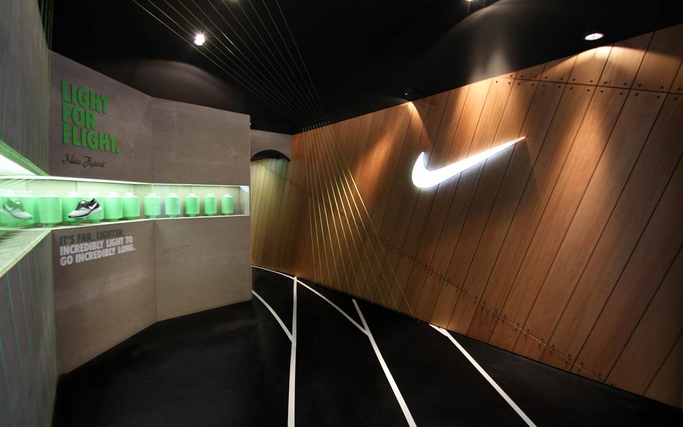 barcelona nike olympic games pop up store on behance. Black Bedroom Furniture Sets. Home Design Ideas