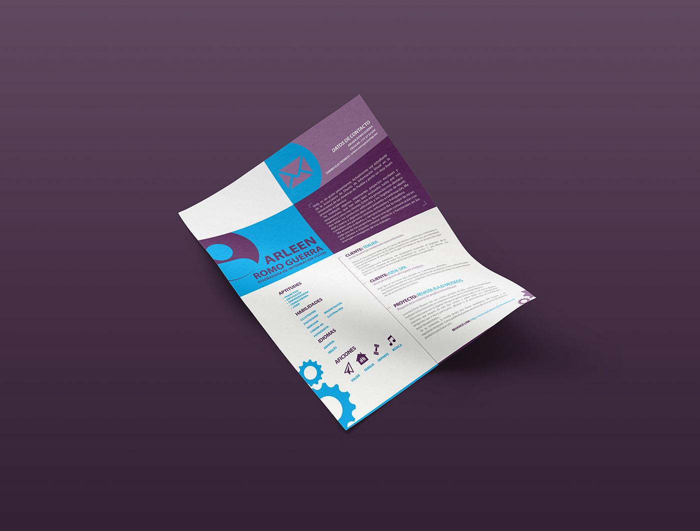 Currículum Vítae, 5 consejos para su diseño y 5 ejemplos visuales ...
