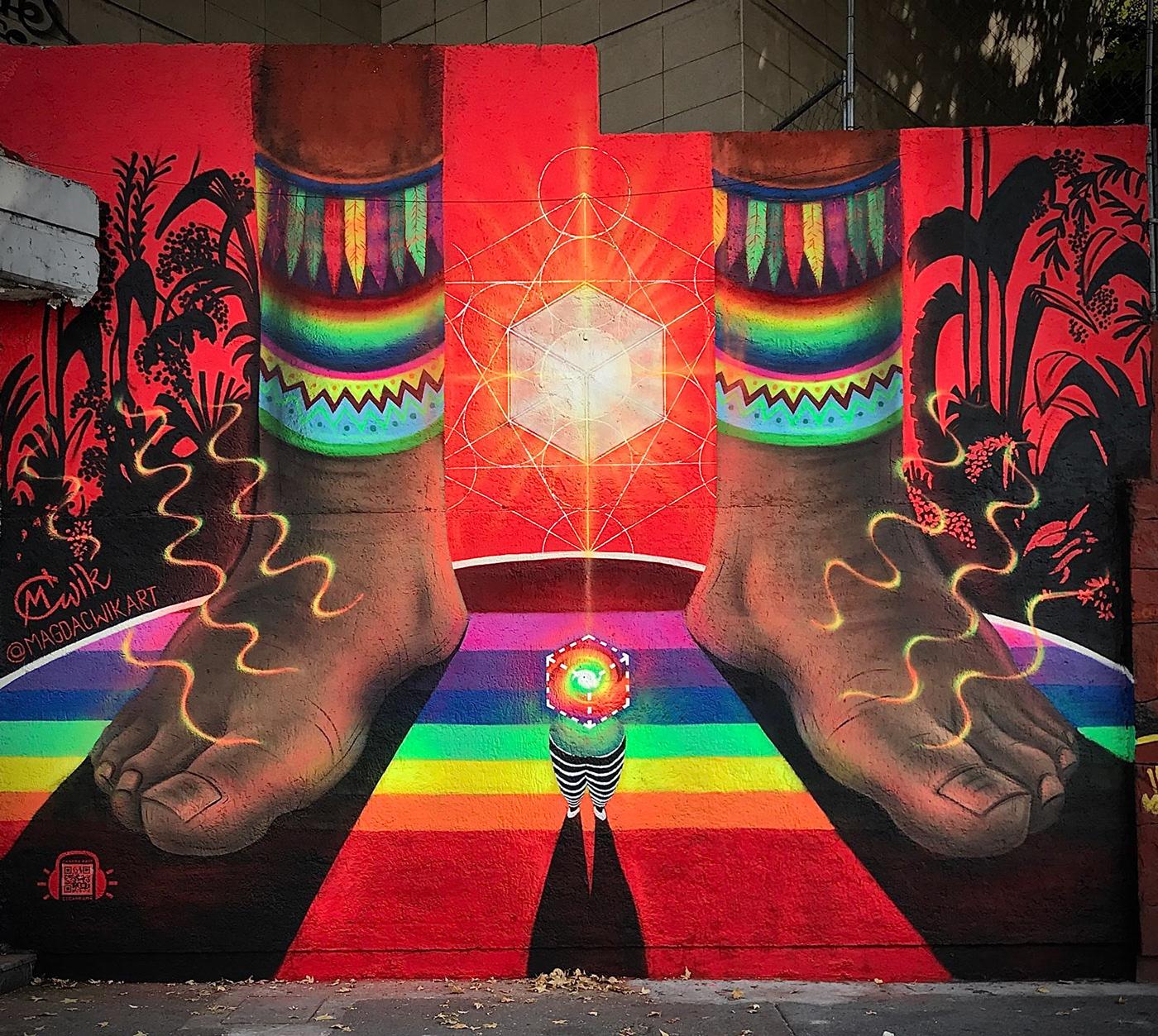 art,artwork,Female Street Artist,Frequency,Interaction Art,Love,Mural,music,Street Art ,vibrations